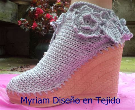 17 best images about crochet on pinterest crochet tunic 17 best images about zapatos tejidos al crochet on