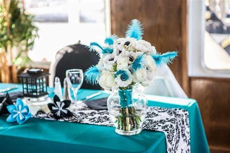 black white and turquoise fairytale wedding cruise beautiful turquoise and wedding