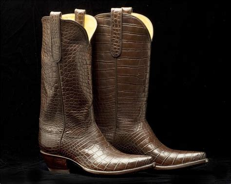 Handmade Alligator Boots - alligator boots nhr 76