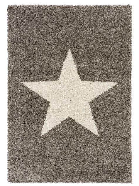 teppich sterne grau benuta hochflor teppich graphic grau 60001950 sterne