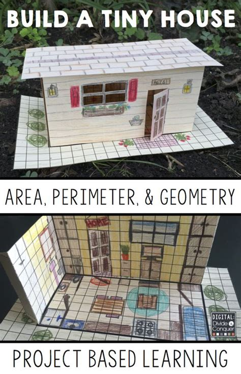 build a 3d house build a tiny house project based learning activity a pbl