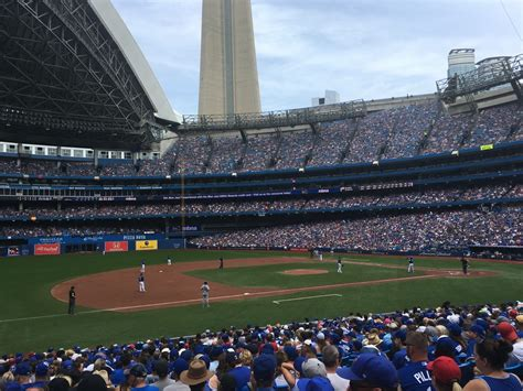 section 128 rogers centre rogers centre section 128 toronto blue jays