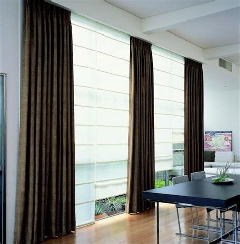 curtains with shades curtains and roman blinds curtains center