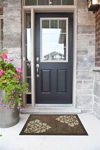 black front door black front door