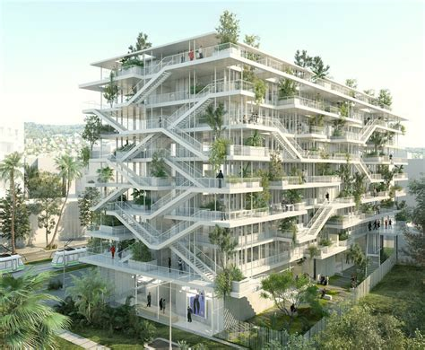 french architecture french architects unveil plans for bio climatic inside