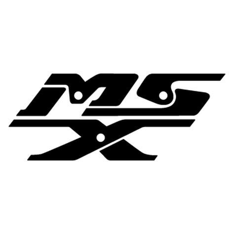Sticker Honda Msx sticker honda msx logo