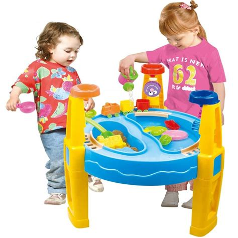 water play table for toddlers childrens toddler sand and water play table activity