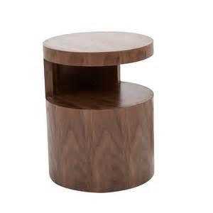 Evo Bedside Table Colour: Dark Walnut
