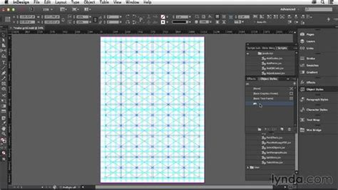 layout zone script indesign using the makegrid script