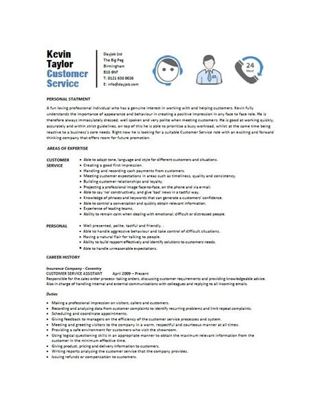 free customer service resume templates 31 free customer service resume exles free template