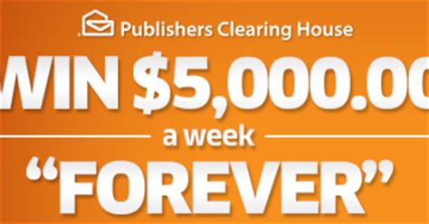 Publishers Clearing House Magazines - publishers clearing house 5 000 a week for life good thing or bad thing