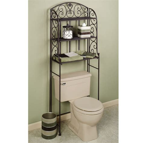 The Toilet Rack by Clever And Handy Above Toilet Storage Designs Ideas