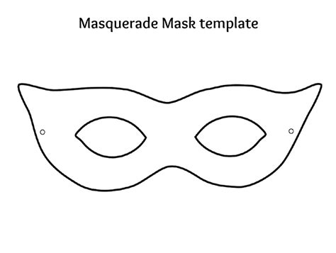 mask templates printable 7 best images of plain masks templates printables