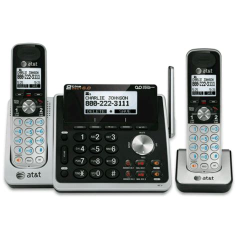at t two 2 handset cordless phone bundles at t
