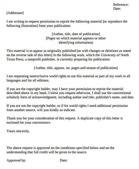 Asking Permission Letter Exle 51 Formal Letter Format Template Free Premium Templates