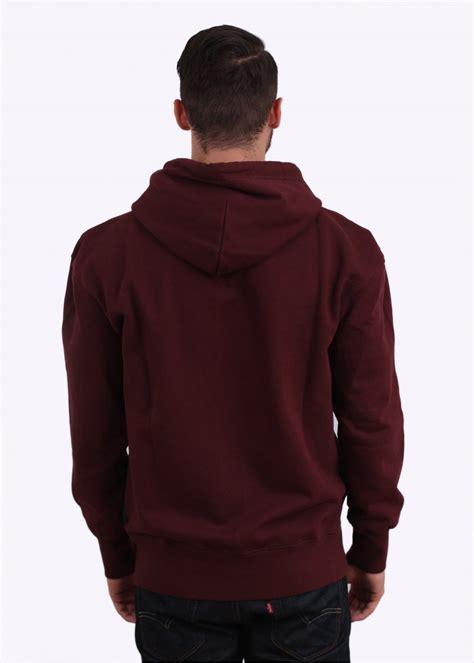 Jaket Sweater Vans Button Maroon 1 paul smith button up hoodie maroon