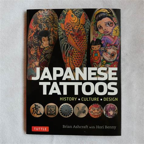Japanese Tattoo History Book | japanese tattoos full of traditional and modern designs