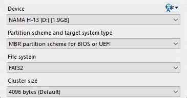 tutorial rufus terbaru rufus 2 17 build 1198 create bootable usb flashdisk