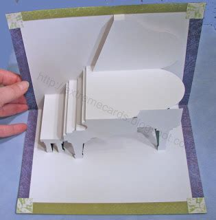 grand piano pop up card template cards and papercrafting grand piano card