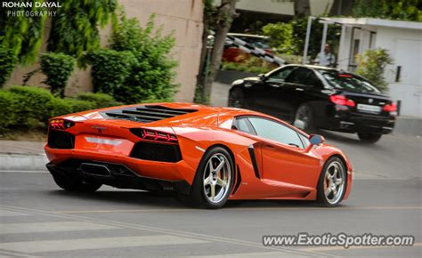 koenigsegg delhi lamborghini aventador spotted in delhi india on 05 29