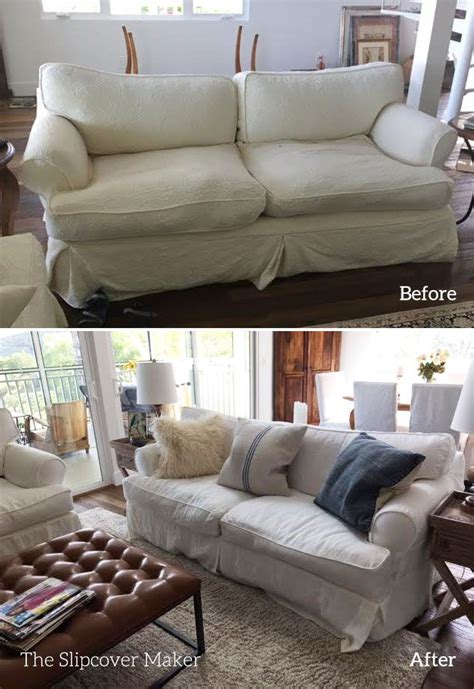 15 Best Slipcover Copies Images On Pinterest Furniture Country Sofa Slipcovers