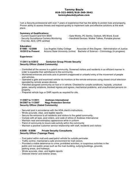 sensational resume cover letter format sle bunch ideas of resume cv cover letter sensational ideas security resume sle 4 for it security