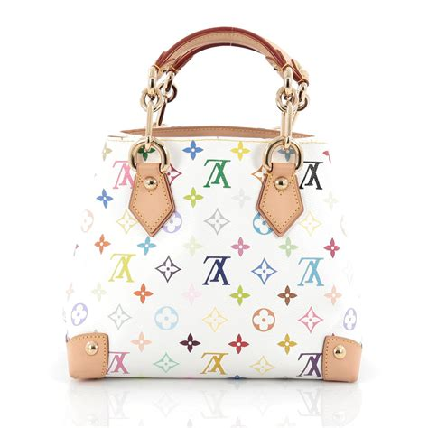Audra Handbag by Buy Louis Vuitton Audra Handbag Monogram Multicolor White