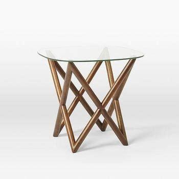 bentwood side table west elm