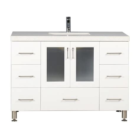 home depot design element vanity design element westfiled 48 in w x 22 in d vanity in