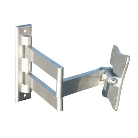 swing arm bracket for tv silver flat panel lcd monitor silver flat panel 1923 d