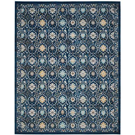 rugs 8 ft safavieh evoke royal ivory 8 ft x 10 ft area rug evk210a 8 the home depot