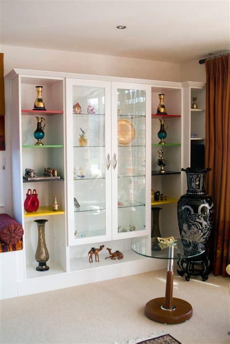 glass shelving units living room furniture