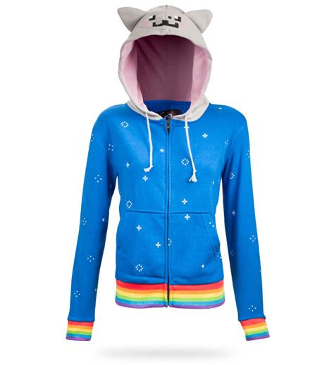 so it s come to this the nyan cat hoodie geekologie