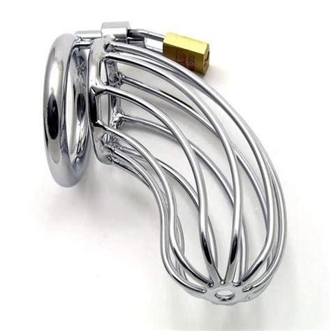 male chastity steel bird cage male chastity device ebay