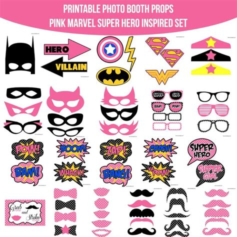 printable heroes starter set 1000 images about superhero birthday on pinterest
