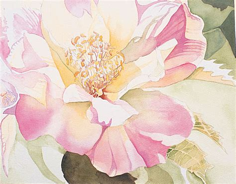Acrylic Paint For Wall Murals watercolor painting demonstration painting petals