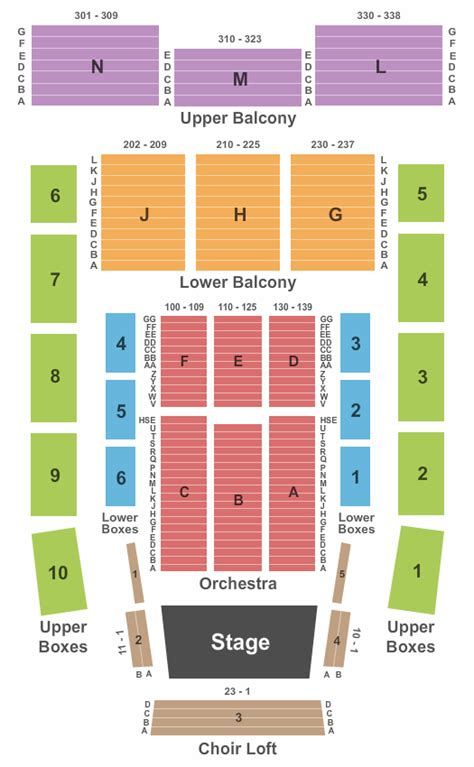 progress energy center seating chart concert venues in raleigh nc concertfix