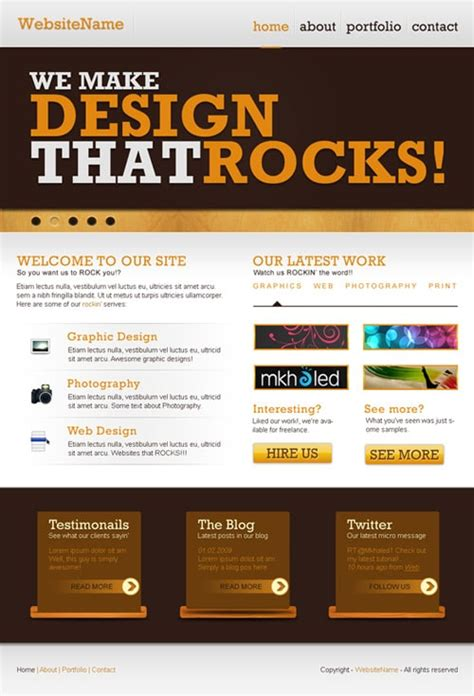 how to design a website layout in photoshop cs5 website layouts 50 professional photoshop tutorials