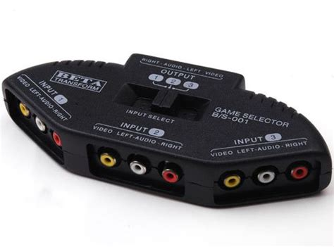 splitters switches composite av rca to hdmi new 3 way av amplifier hdmi rca splitter switch cable