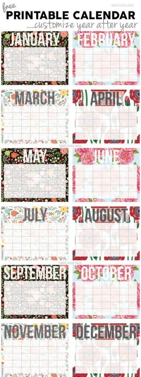 printable calendar 2018 decorative 2018 free printable calendars lolly jane