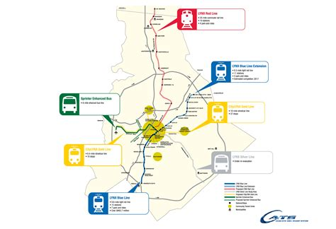 lynx light rail schedule cats just launched new 1 5 million study in preparation