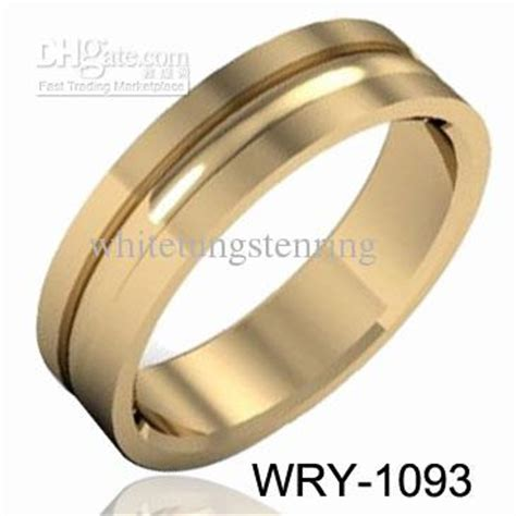 do gold plated tungsten rings tarnish