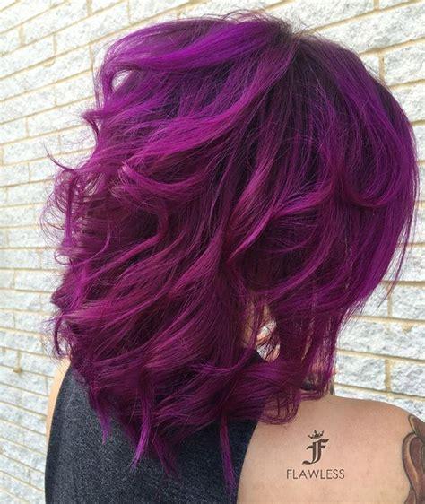 purple hair color for hair best 25 violet hair colors ideas on