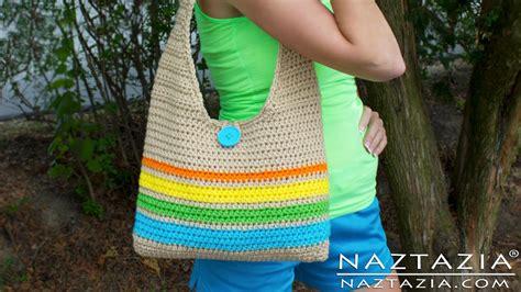 easy tote bag pattern uk diy learn how to make crochet easy beginner tote bag