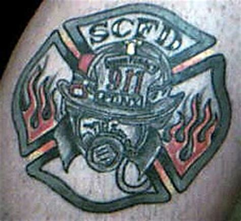tattoo jobs new york maltese firefighter tattoo