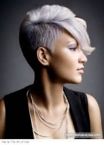 womens haircut with sides short shaved hairstyles for women
