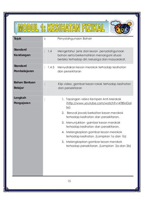 membuat poster pendidikan panduan pengajaran pendidikan kesihatan tahun 3