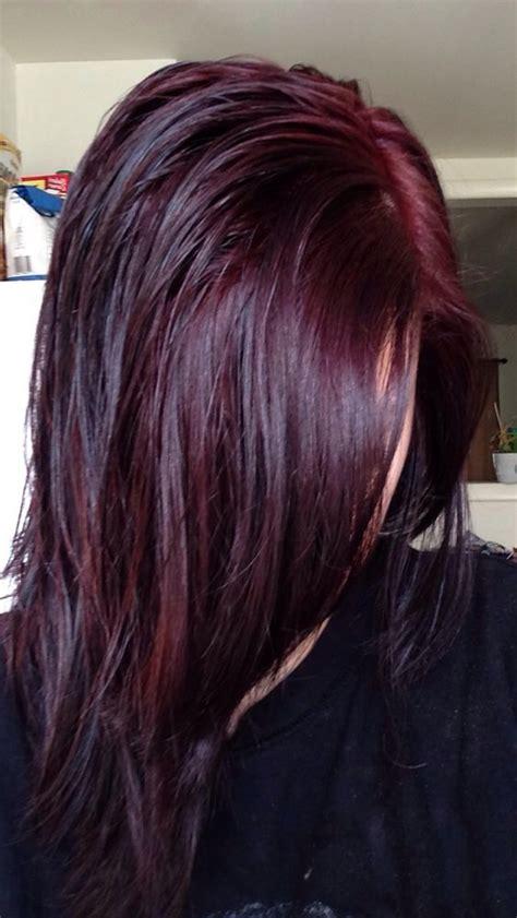 cherry burgundy hair chocolate cherry so pretty hair pinterest deep