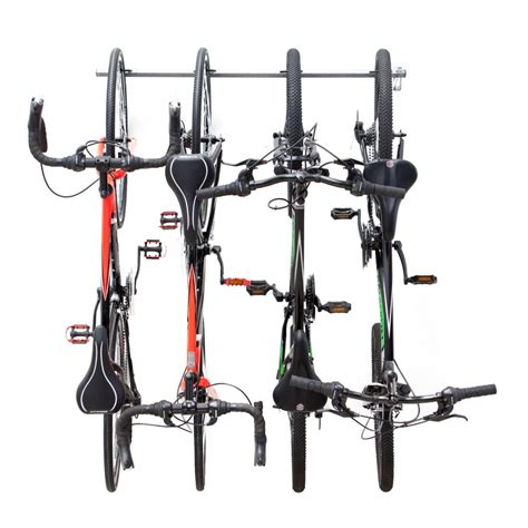 Bike Racks For Home by Monkey Bars Bike Storage Rack Holds 4 Bikes The Home