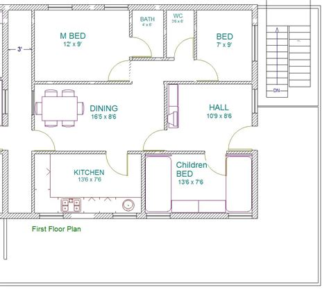 house plans as per vastu south facing house plans
